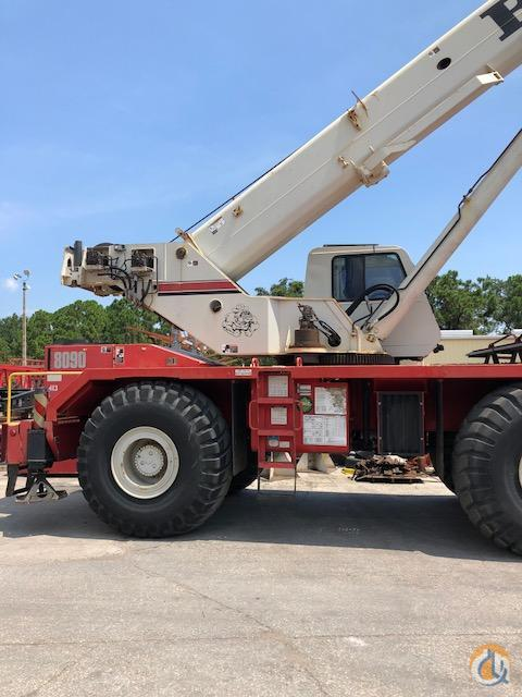 2008 Link-Belt RTC 8090 Crane for Sale in Cocoa Florida on CraneNetwork.com