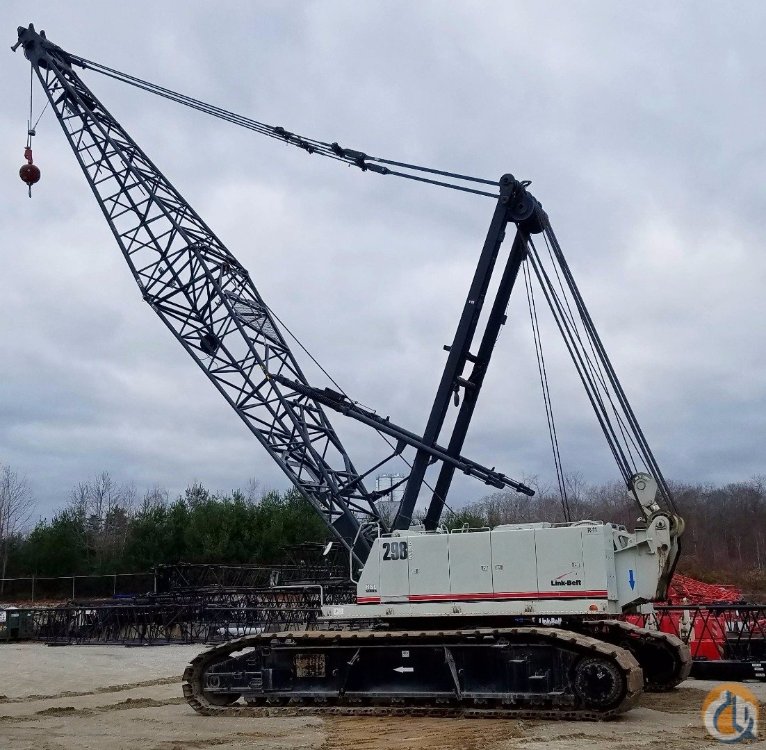 Link-Belt 298 HSL Crawler Lattice Boom Cranes Crane for Sale 2008 Link-Belt 298HSL 250-Ton Capacity in Oxford  Massachusetts  United States 145438 CraneNetwork