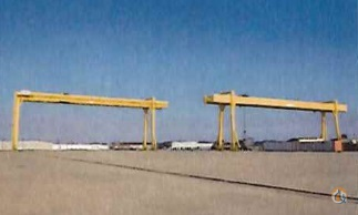 90T45T Gantry Cranes with 985 Runway Crane for Sale in Fort Smith Arkansas on CraneNetworkcom