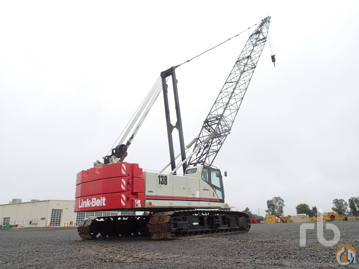 Sold 2011 LINK-BELT 138HSL Hylab 80 Ton Crawler Crane Crane for  in Polotitln de la Ilustracin State of Mexico on CraneNetworkcom