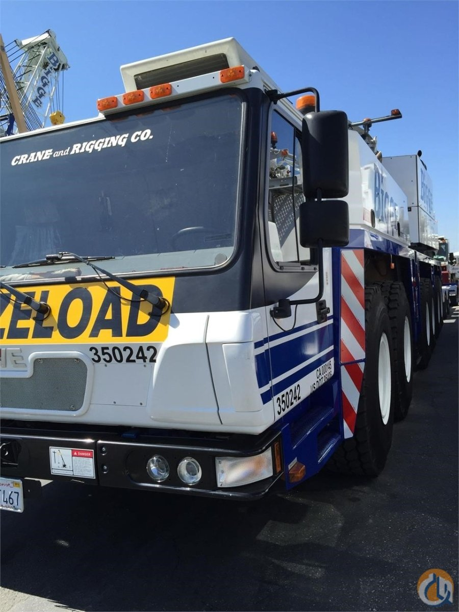 2012 GROVE GMK6350 Crane for Sale in San Leandro California on CraneNetwork.com