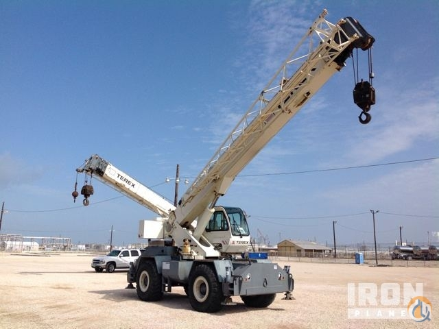 Sold 2008 Terex RT230-1 Rough Terrain Crane Crane for  in League City Texas on CraneNetwork.com