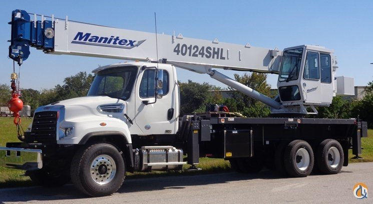 2014 MANITEX 40124 SHL Crane for Sale on CraneNetwork.com