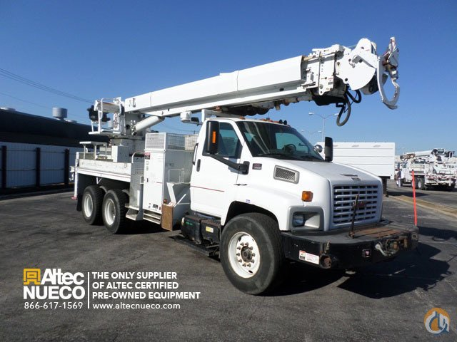 2006 ALTEC D4055-TR Crane for Sale in Calera Alabama on CraneNetworkcom