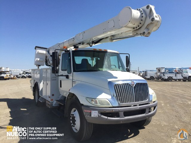 2008 ALTEC AM855-MH Crane for Sale in Dixon California on CraneNetworkcom