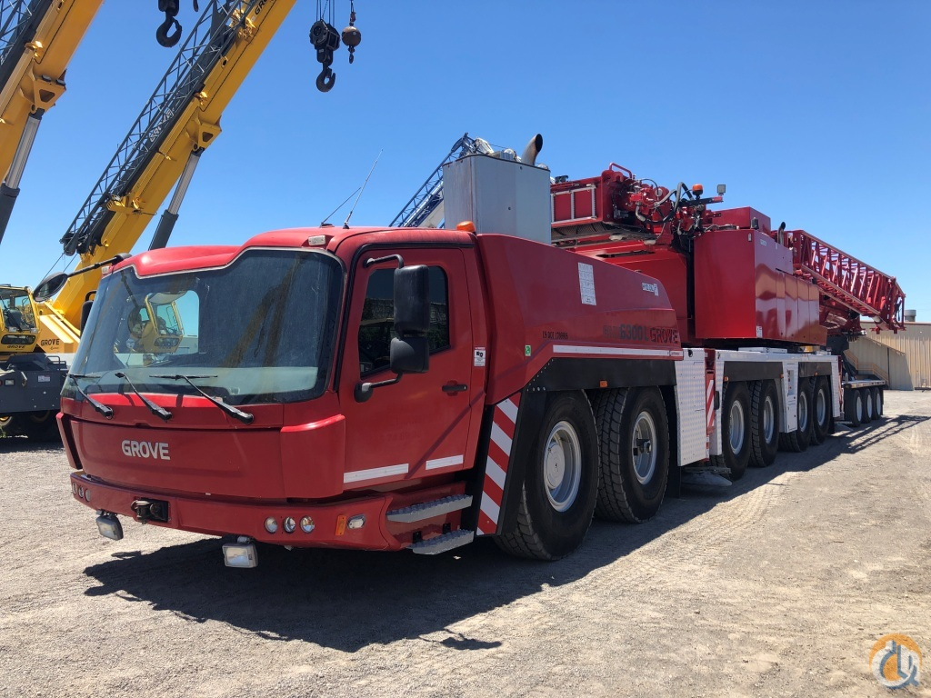 2015 GROVE GMK 6350L Crane for Sale in Midland Texas on CraneNetwork.com