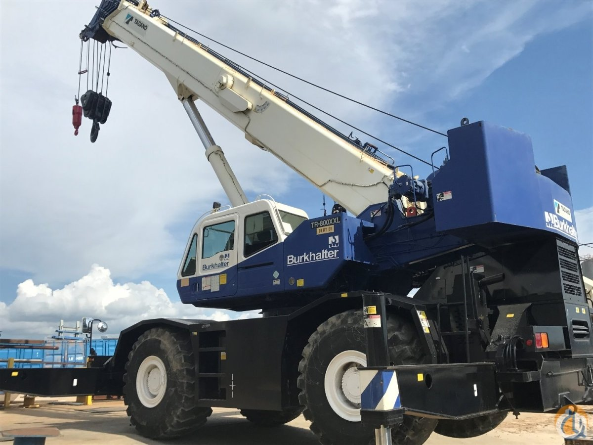2007 Tadano TR-800XXL-4 Crane for Sale in Columbus Mississippi on CraneNetwork.com