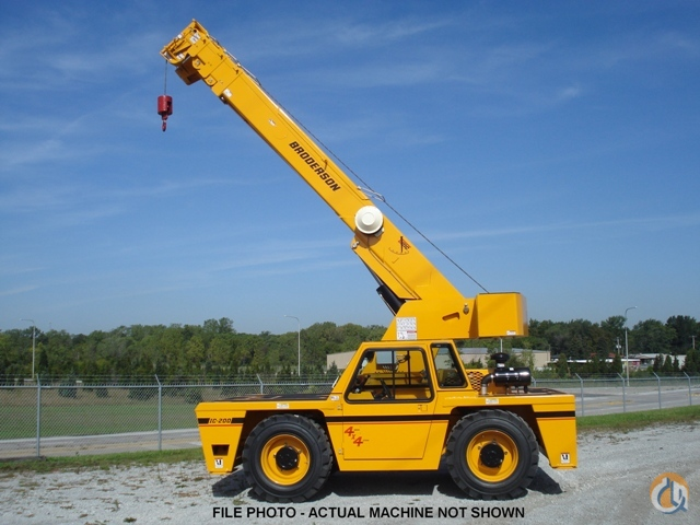 2017 Broderson IC-200-3J Carry Deck Crane Crane for Sale on CraneNetwork.com