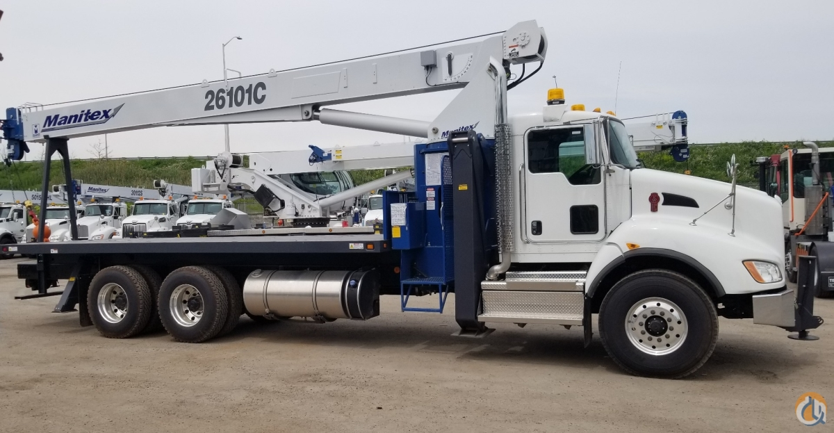 2019 MANITEX 26101C Crane for Sale or Rent in Oakville Ontario on CraneNetwork.com
