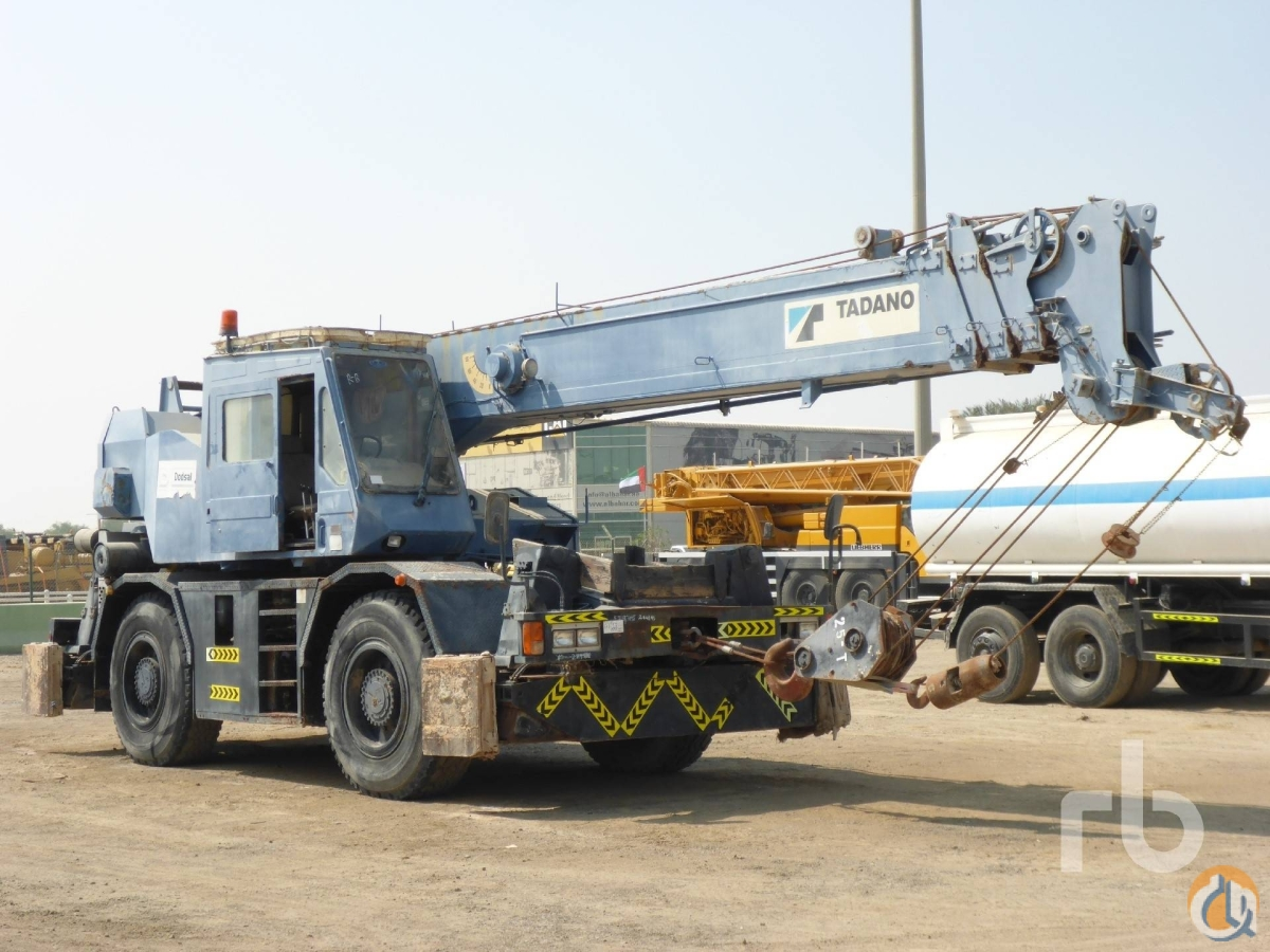 Sold TADANO TR250M-4 Crane for  in Arar Northern Borders Province on CraneNetworkcom