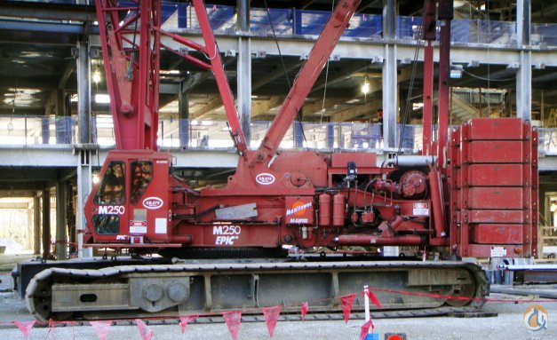 1993 MANITOWOC M250 SERIES 2 Crane for Sale or Rent in Gambrills Maryland on CraneNetwork.com