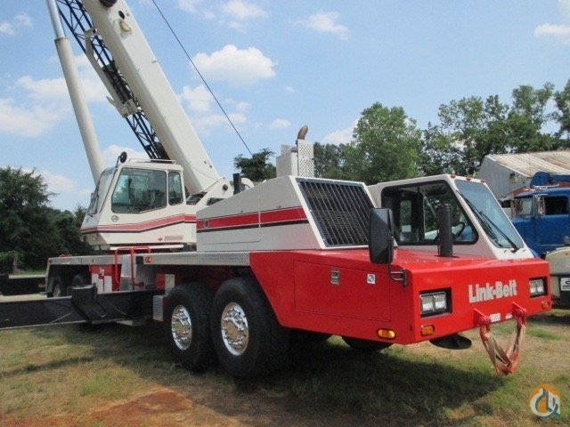 2008 Link-Belt HTC 8675 II Crane for Sale on CraneNetwork.com