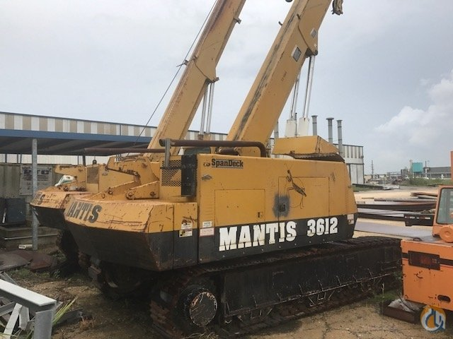 1995 MANTIS 3612 CRAWLER CRANE Crane for Sale in Houston Texas on CraneNetwork.com
