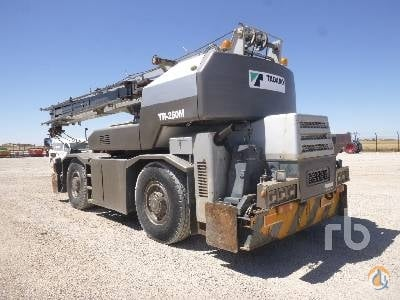 1999 TADANO TR250M-6 Crane for Sale in Ocaa Castilla-La Mancha on CraneNetworkcom