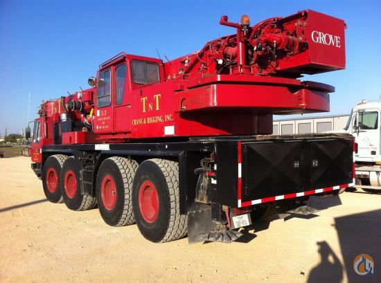 1999 Grove GMK4085 Crane for Sale in Midland Texas on CraneNetworkcom