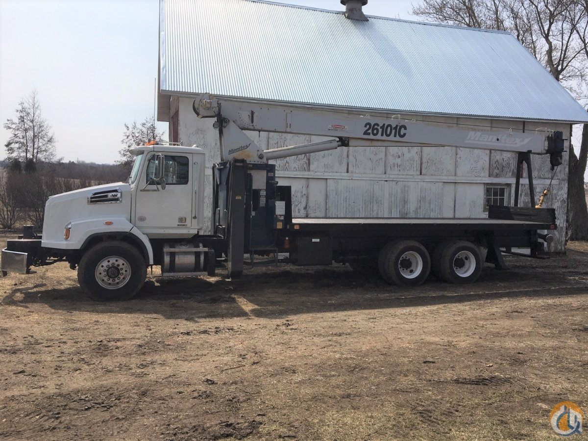 Manitex 26101C mounted on 2012 Western Star 4700 Crane for Sale in Hodgkins Illinois on CraneNetwork.com