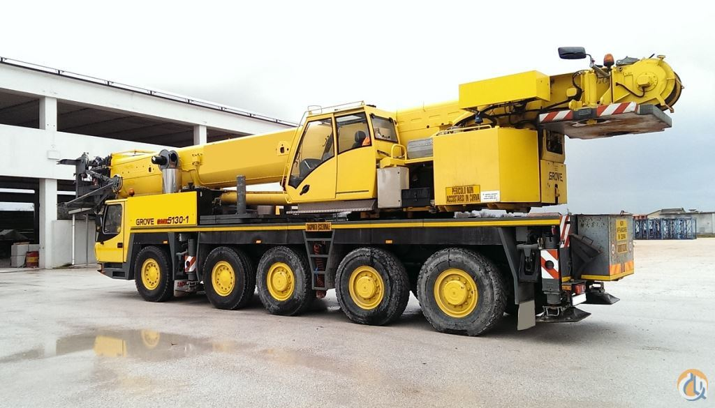 2006 Grove GMK5165 Crane for Sale on CraneNetwork.com