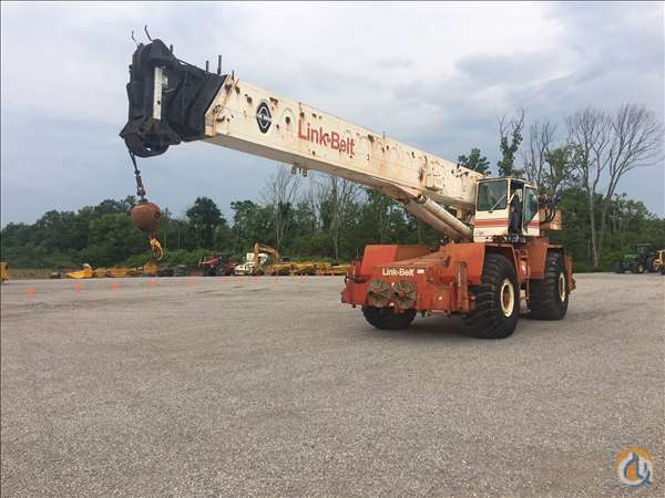 1992 LINK-BELT HSP-8050 Crane for Sale in Verona Kentucky on CraneNetwork.com