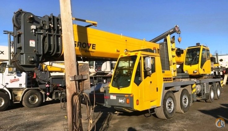 Sold 2012 Grove TMS800E Crane for  in Oakville Ontario on CraneNetwork.com