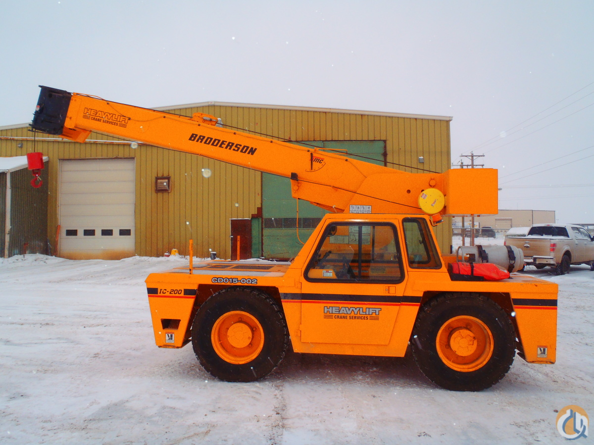 2001 Broderson IC-200-2C Crane for Sale in Nisku Alberta on CraneNetwork.com