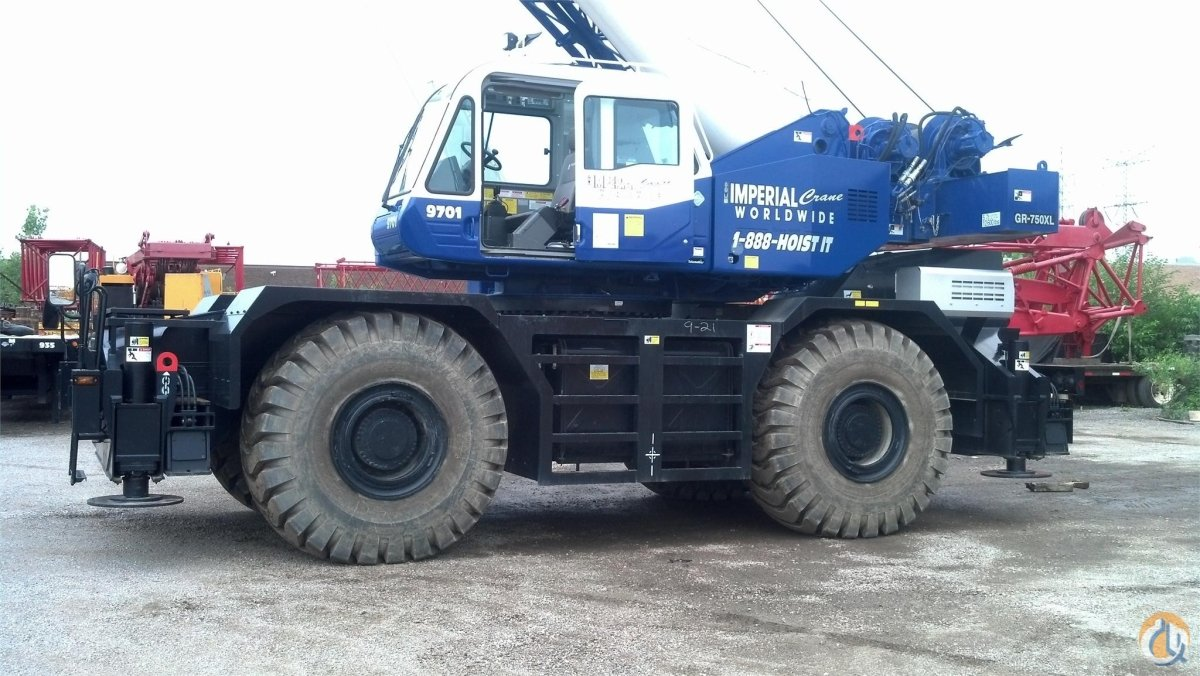 2012 TADANO GR750XL-2 Crane for Sale in Bridgeview Illinois on CraneNetworkcom