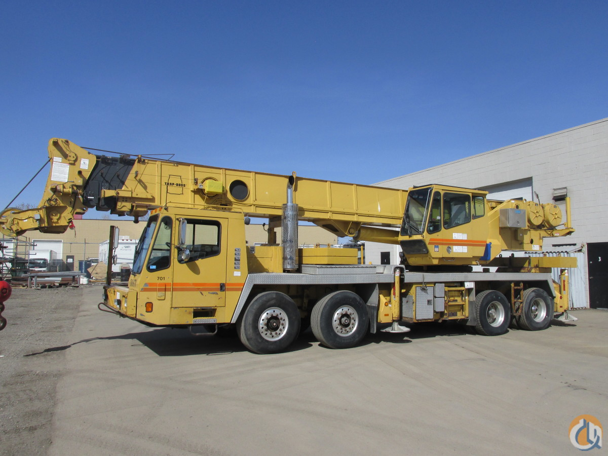 Sold Grove Tms870 Hydraulic Truck Crane Crane For In