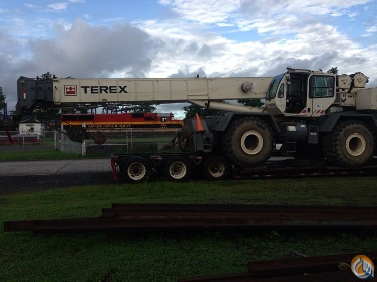 2008 Terex RT665 Rough Terrain Crane Crane for Sale on CraneNetwork.com
