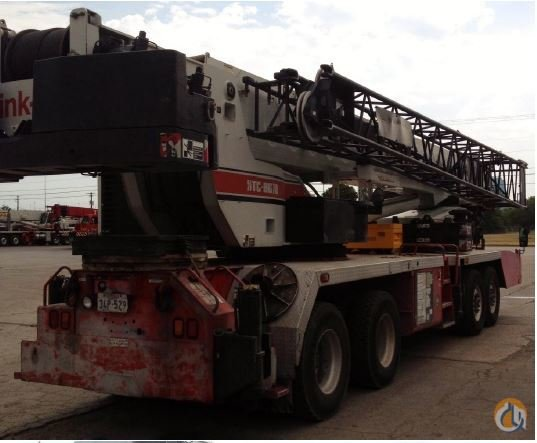 2002 Link-Belt HTC 8670 Crane for Sale in Fort Worth Texas on CraneNetwork.com