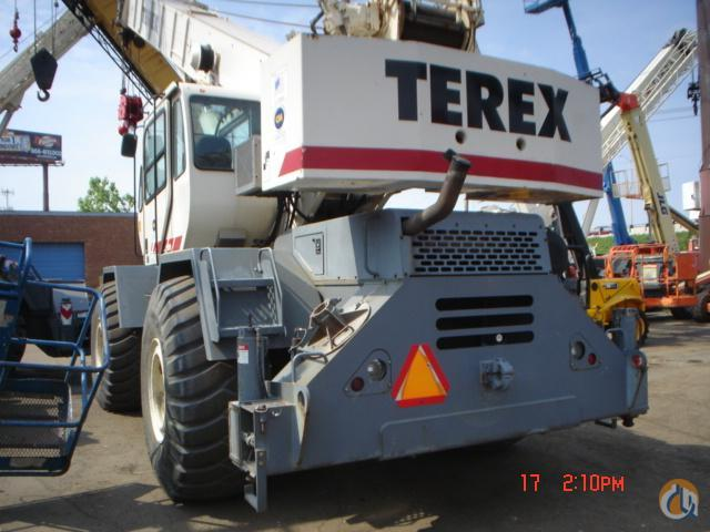 Terex RT555 Rough Terrain Cranes Crane for Sale 2001 TEREX RT555 in Bridgeview  Illinois  United States 218996 CraneNetwork