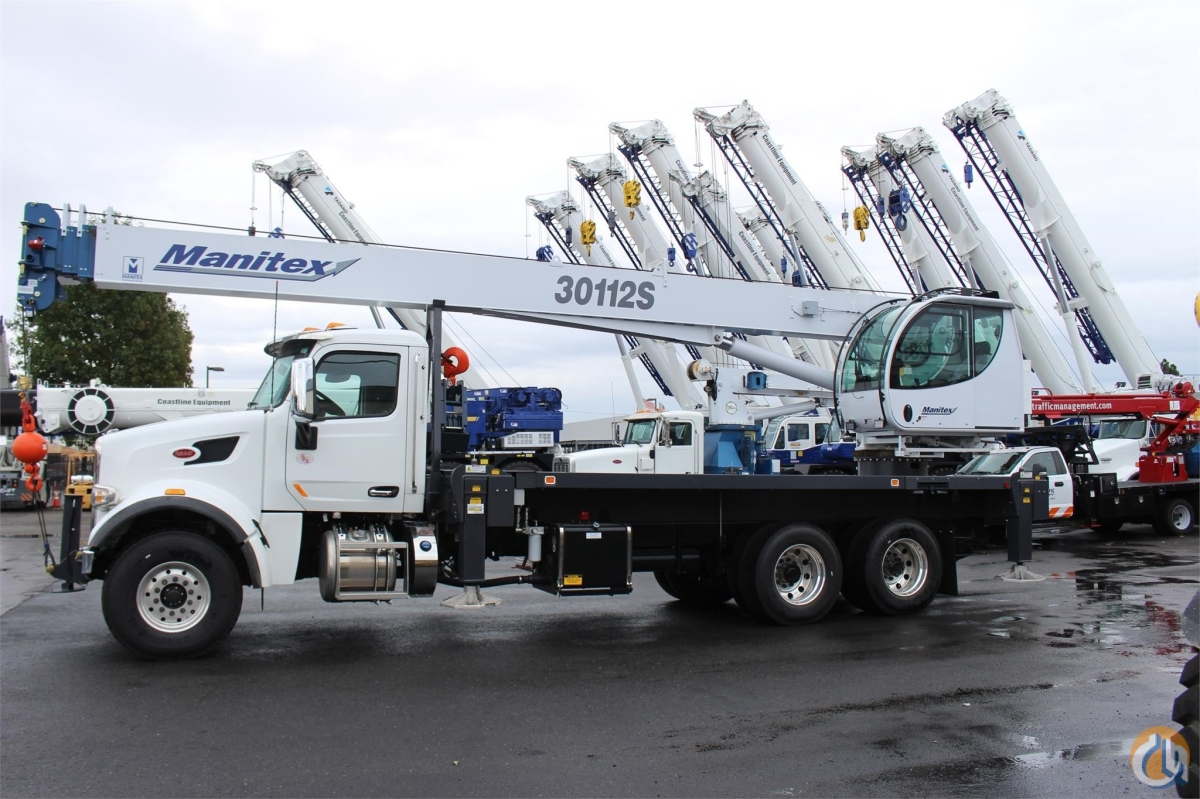 2019 MANITEX 30112S Crane for Sale or Rent in Santa Ana California on CraneNetwork.com