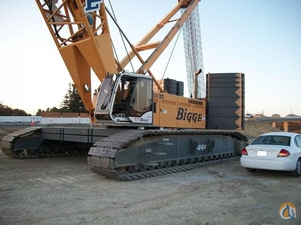 2009 LIEBHERR LR1300SX Crane for Sale in San Leandro California on CraneNetwork.com