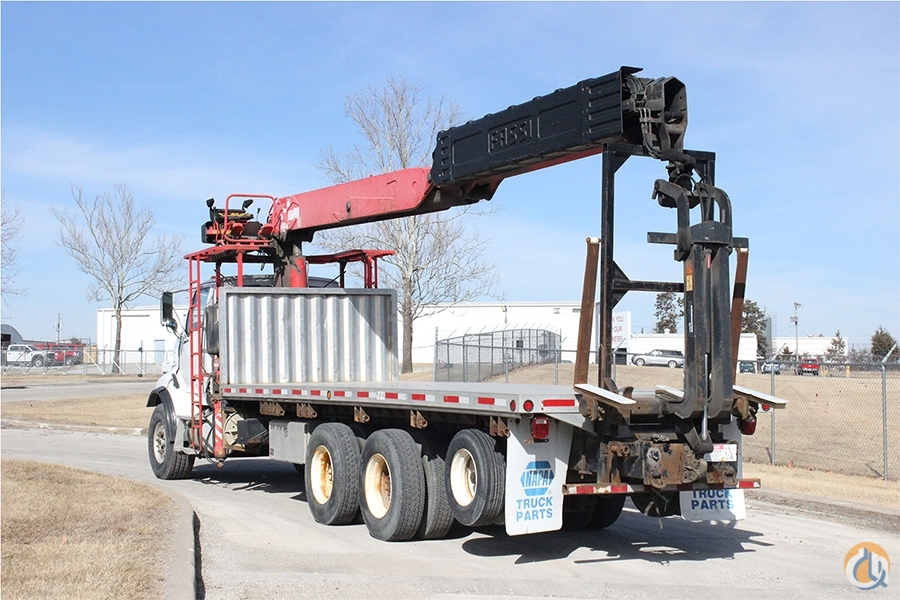 Used Fassi F360SE.24 mounted to 2005 Sterling LT9513 Crane for Sale in Olathe Kansas on CraneNetwork.com