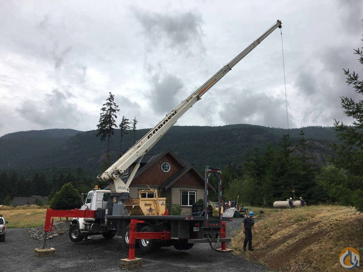2001 Terex BT60100 Crane for Sale in Nanaimo British Columbia on CraneNetwork.com