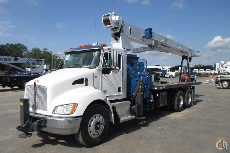 New Manitex 30102C mounted to 2018 Kenworth T370 chassis Crane for Sale in Houston Texas on CraneNetwork.com