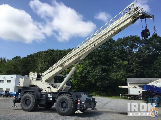 2015 Terex RT555 Rough Terrain Crane Crane for Sale in Indianola Pennsylvania on CraneNetwork.com