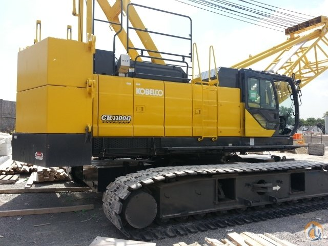 2019 KOBELCO CK1100G-2 Crane for Sale or Rent in Nisku Alberta on CraneNetwork.com