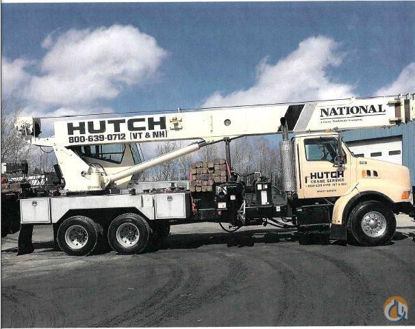 Sold 2000 National 1500 Mounted on a Sterling LT9513 Crane for  in Berlin Vermont on CraneNetwork.com