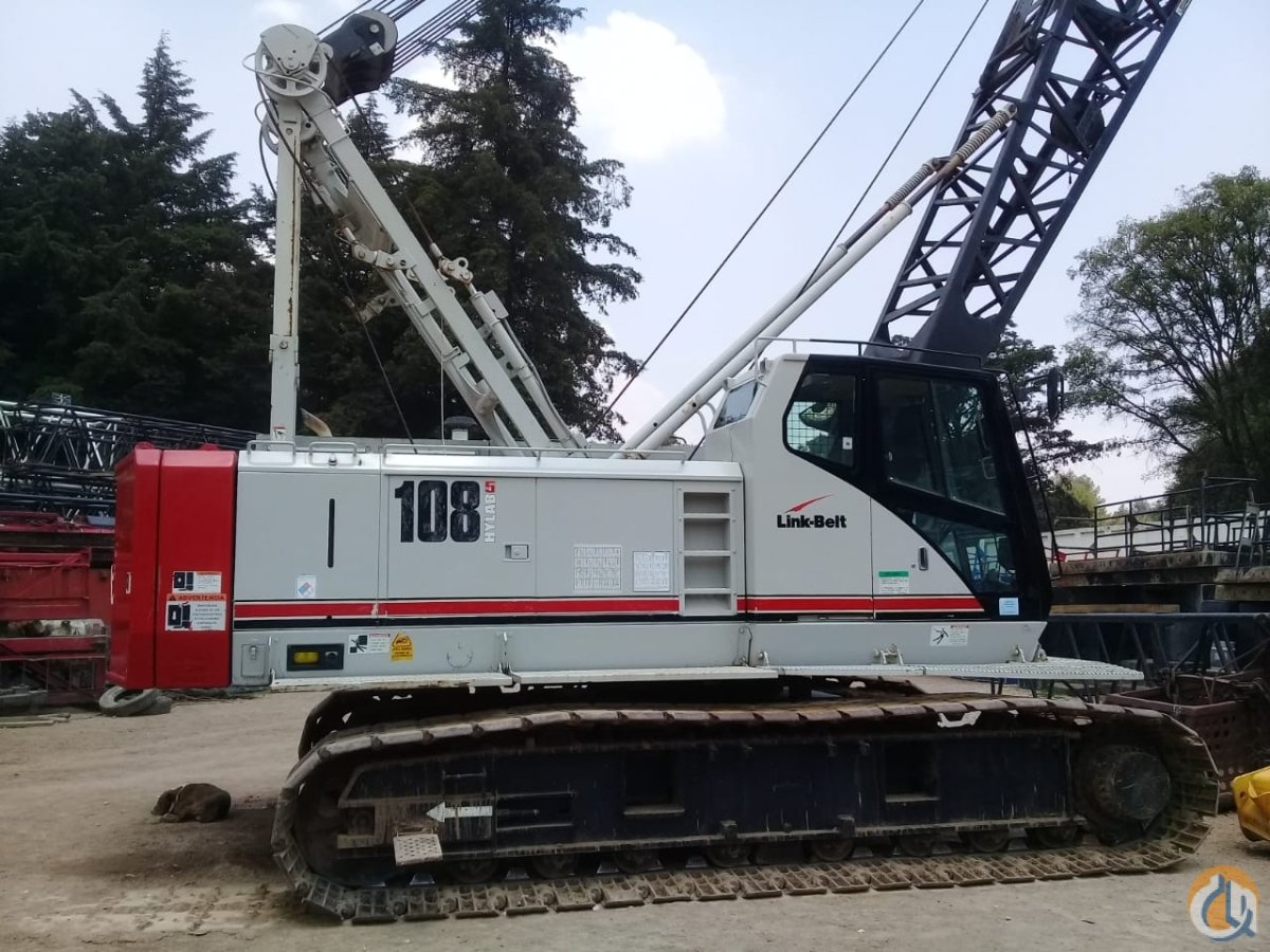 2008 Link-Belt 108 Hylab 5 Crane for Sale in Grand Rapids Michigan on CraneNetwork.com