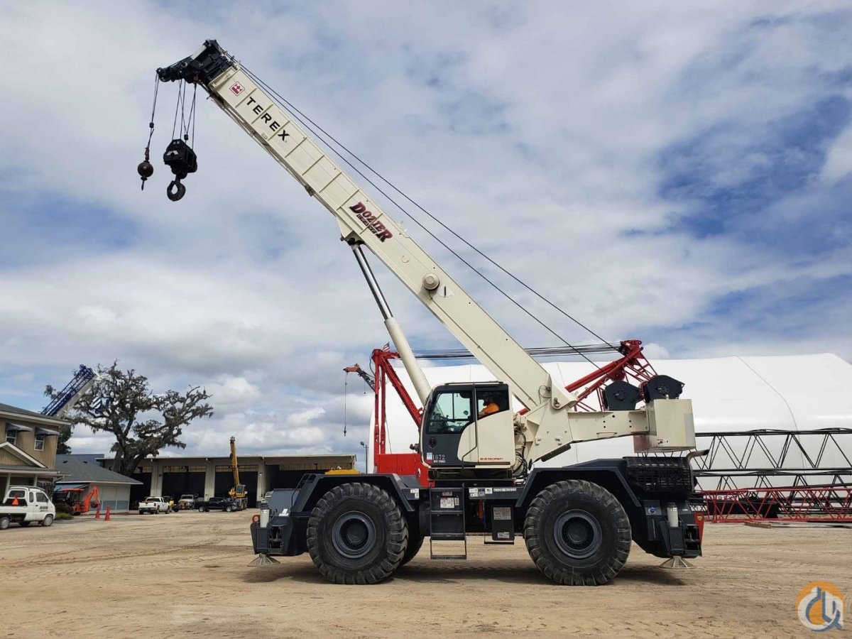 2016 TEREX RT-780 Crane for Sale or Rent in Savannah Georgia on CraneNetwork.com