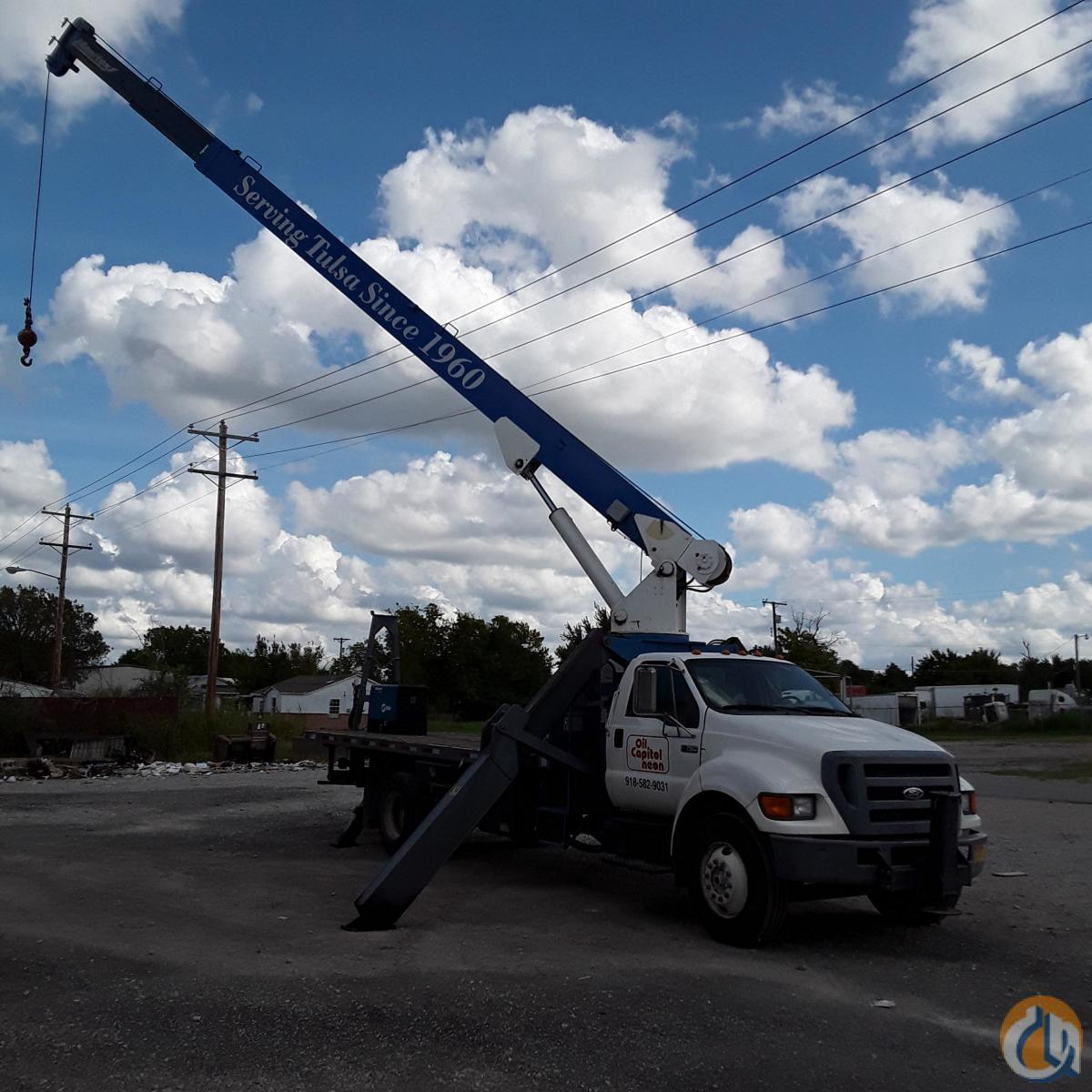 2004 FORD F750 MANITEX 1770C CRANE Crane for Sale in Tulsa Oklahoma on CraneNetwork.com
