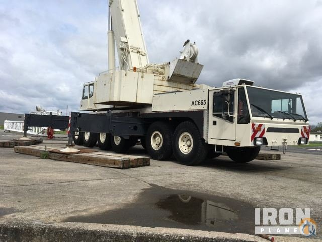 Sold 1997 Demag AC665 All Terrain Crane Crane for  in Syracuse New York on CraneNetwork.com