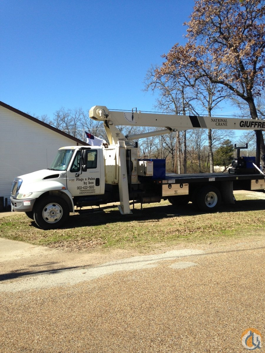 Automatic Wireless Remote Boom Truck Crane for Sale in Tool Texas on CraneNetwork.com