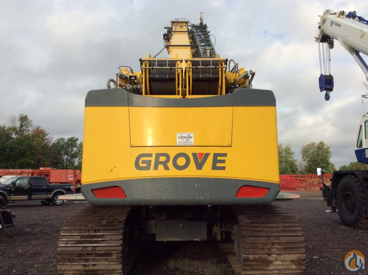 2015 Grove GHC55 Crane for Sale in Cleveland Ohio on CraneNetwork.com