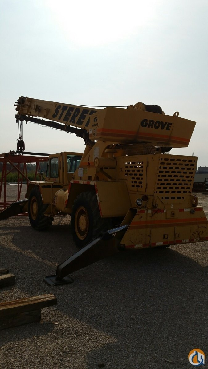 1988 GROVE RT58C Crane for Sale in Owensboro Kentucky on CraneNetwork.com