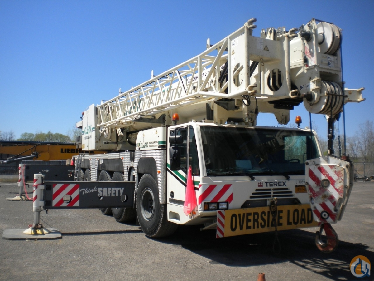 2006 Terex-Demag AC 140 170-ton All Terrain Crane Crane for Sale in Syracuse New York on CraneNetwork.com