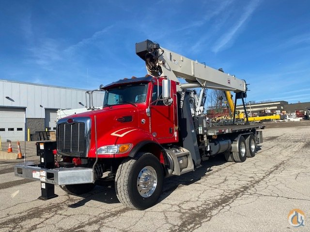 2017 Terex BT4792 23.5 ton boom truck peterbilt Crane for Sale in Solon Ohio on CraneNetwork.com