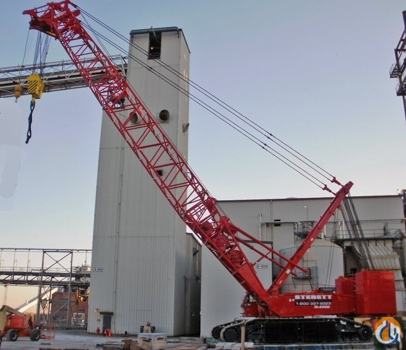 KOBELCO SL4500 CRAWLER CRANE FOR SALE Crane for Sale in Owensboro Kentucky on CraneNetwork.com