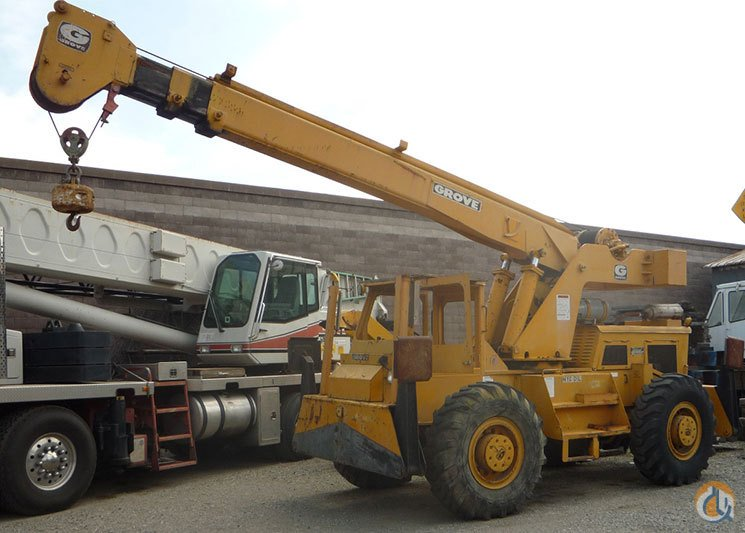 sold grove rt49 10 ton rt crane for in hayward california on rh cranenetwork com Grove AP308 Load Chart Carry Deck Crane