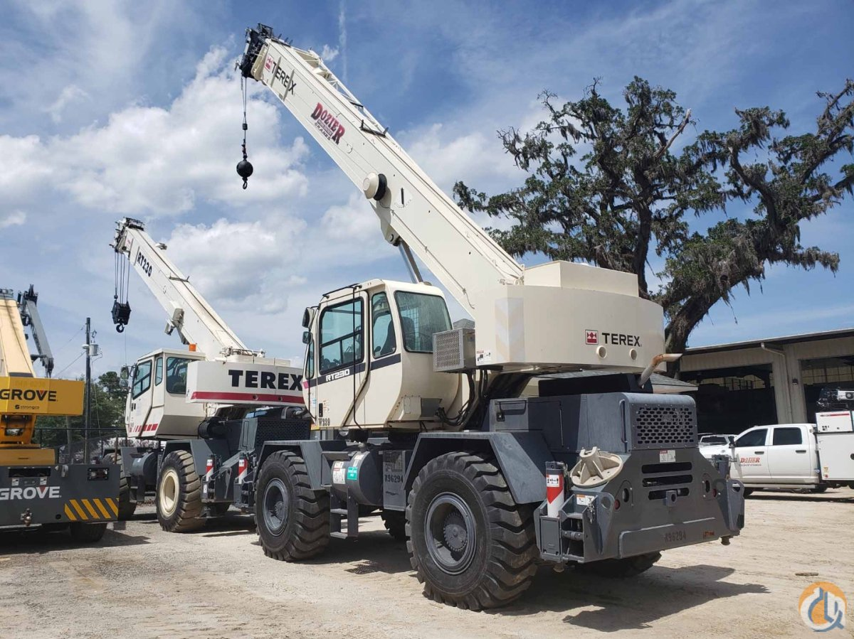 2016 TEREX RT-230 Crane for Sale or Rent in Savannah Georgia on CraneNetwork.com