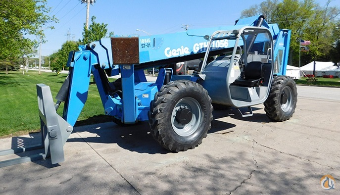 2007 GENIE GTH 1056 Crane for Sale or Rent in Griffith Indiana on CraneNetwork.com